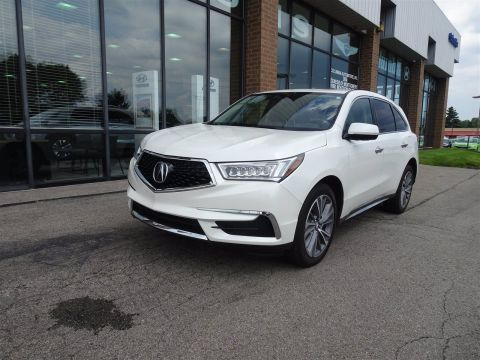 Pre-Owned 2017 Acura MDX w/Technology Pkg AWD