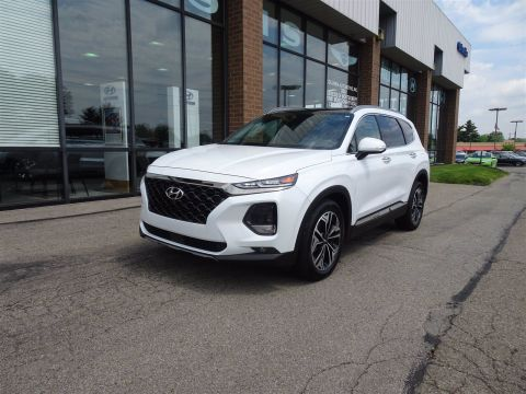 Certified Pre-Owned 2020 Hyundai Santa Fe Limited FWD
