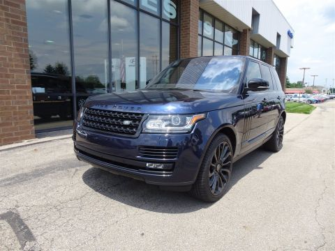 Pre-Owned 2017 Land Rover Range Rover 5.0L V8 Supercharged 4WD